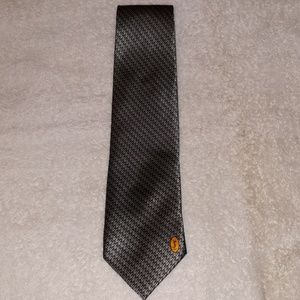 YSL Yves Saint Laurent Elaborate Work Set Silk Tie